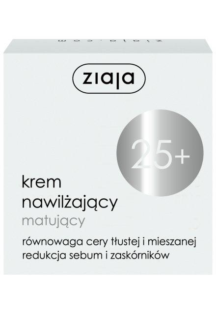 hydratační matující krém 25+