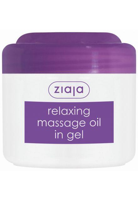masážní olej v gelu relaxační